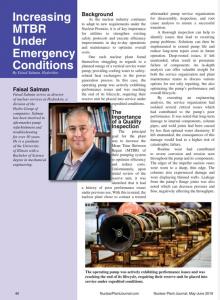 increasing mtbr under emergency conidtions